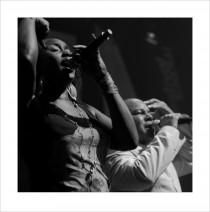 Joe Bowie's Defunkt n'EU Soul@MoersFestival 2012 – Emma Lamadji & Joe Bowie