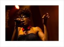 Malika Tirolien – Lakecia Benjamin & Soul Squad @MoersFestival 2012